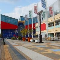 海遊館と天保山マーケットプレイス