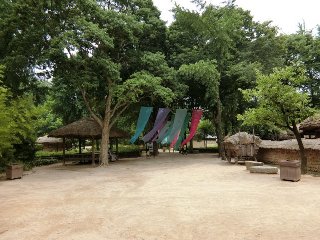 涼しい風 韓国民俗村